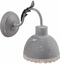 Clayre & Eef 6LMP549DG Wandlampe 15 * 26 * 24 cm /