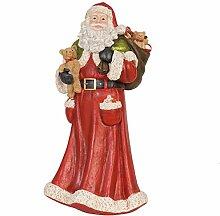 Clayre & Eef 6PR0620 Dekoration Weihnachtsmann 20