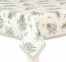 Clayre & Eef BDL05 Tischdecke Lavendel Motiv 150 *