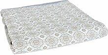 Clayre & Eef Q135.015 Tischdecke grau ca. 150 x 150 cm