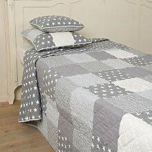 Clayre & Eef Tagesdecke 180x260 - Bett Überwurf -