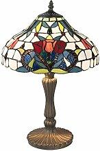 Clayre & Eef Tiffanylampen Tischlampe Tischleuchte
