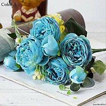 CLBL Gefälschte Blume Gruß Kiefer Kirschblüte