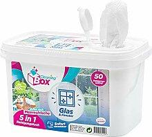 CleaningBox® 5-in-1 Kompostierbare WetCleanWipes