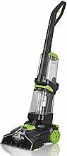 CLEANmaxx 07107 Teppichreiniger Professional, Waschen, Reinigen, Saugen, inklusive Teppich Shampoo für anhaltende Frische, 2.8 L, 800 W, grün / schwarz