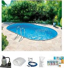 Clear Pool Ovalpool, (Set) B/H/L: Breite 300 cm x