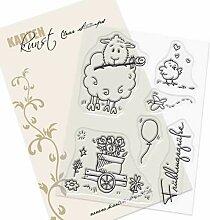 Clear Stamp-Set Stempel-Gummi - Karten-Kunst