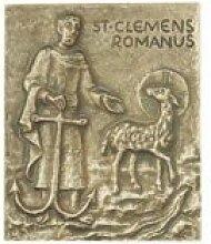 Clemens * kleine Geschenkidee Weihnachten * Namensplakette / Relief / Plakette * Grösse:13 x 10 cm