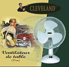 Cleveland 20823 Mini Tischventilator Ventilator Tisch Ventilator 23 cm