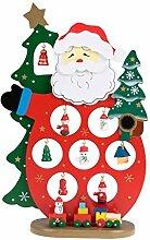 Clever Creations - Tischdekoration Weihnachtsmann