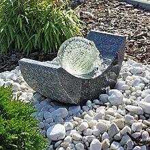 CLGarden Granit Springbrunnen SB15 mit drehender