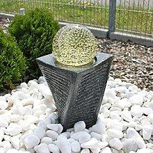 CLGarden Granit Springbrunnen SB17 mit drehender