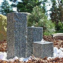 CLGarden Granit Springbrunnen SB2-3 teiliger