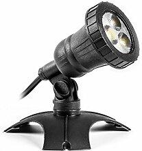 CLGarden plug&light LED Zusatz Unterwasserstrahler