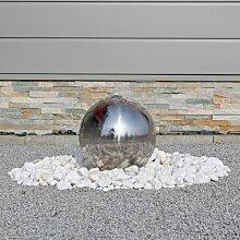 CLGarden Springbrunnen ESB3 aus Edelstahl mit 30cm
