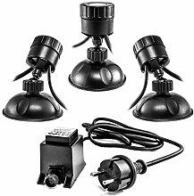 CLGarden Unterwasser LED Teichbeleuchtung Set
