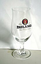 Click-Button 6Bierglas Paulaner 25cl