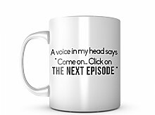 Click On The Next Episode Cool Komisch TV Show Fan