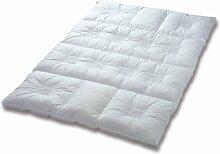 CLIMABALANCE 56504 Zudecke Premium Warm, 155 x 220 cm, 1150 g, weiß