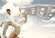 CLIMABALANCE 60629 Zudecke Comfort Light, 135 x 200 cm, 200 g, weiß