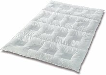 CLIMABALANCE 60698 Zudecke Comfort Medium, 135 x 200 cm, 660 g, weiß