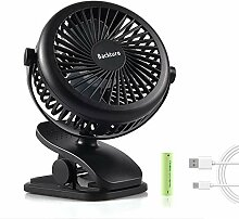 Clip Fan Mini USB Ventilator Tischventilator mit
