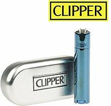 Clip Metall Blau