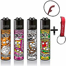 Clipper Best Friends Original Lighter Flints 4 Set