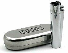 Clipper Feuerzeug Chrom
