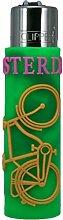 CLIPPER® Feuerzeug mit Gummi-Hülle - Rubber Case