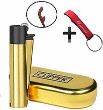 Clipper Flint Metall Metal Lighter Feuerzeug