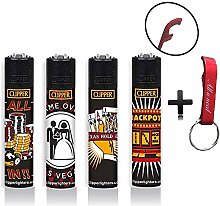 Clipper Las Vegas Original Lighter Flints 4 Set