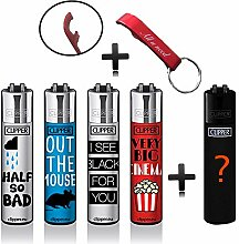 Clipper Original Lighter Flints 4 Set + 1