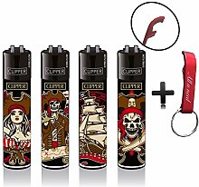 Clipper Pirates Piraten Original Lighter Flints 4