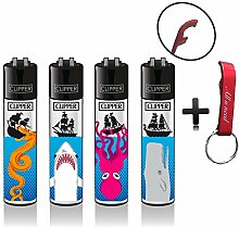Clipper Sea Monsters See Monster Original Lighter