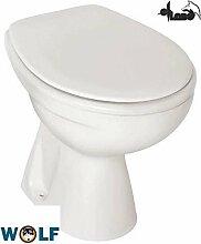 Clivia Stand WC Flachspüler Farbe manhattan