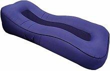Clkdasjd Aufblasbare Outdoor-Liege Sofa Bett