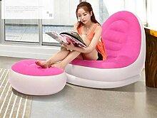 Clkdasjd Aufblasbare Sofa Sessel Air Inflated
