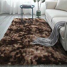 Clnelec Zottelteppich, Teppiche für Wohnzimmer,