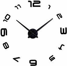 ClockHM Große wanduhr wandspiegel Aufkleber DIY