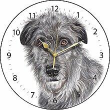Clocks Irischer Wolfshund Hund–Schöne