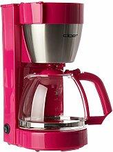 Cloer 5017-1 Kaffeeautomat, rosa