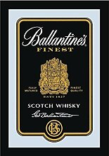 Close Up Ballantine's Spiegel Scotch Whiskey