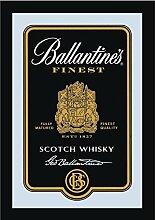 Close Up Ballantine's Spiegel Scotch Whiskey