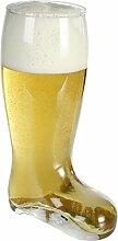 Close Up Bierstiefel XXL aus Glas,