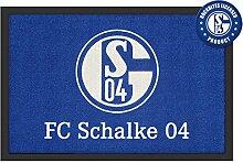 Close Up FC Schalke 04 Fußmatte Logo 60x40cm,