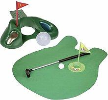 Close Up Golfset Türstopper & Toiletten-Golf-Set - lustiges Fun Gadge