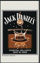 Close Up Jack Daniel's Spiegel Charcoaled