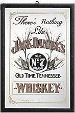 Close Up Jack Daniel's Spiegel Nothing Like