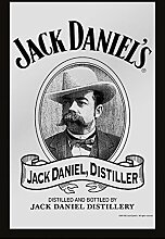 Close Up Jack Daniel's Spiegel Old Destiller